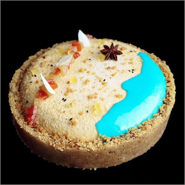 Beach Theme Exotic Cake - Le Rivage