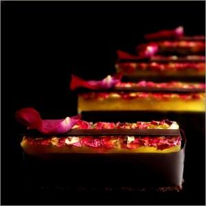 Rose Lemon Mascarpone Desserts - L'Élégie