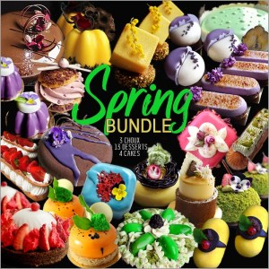 Spring Dessert and Cake Recipes Collection Bundle