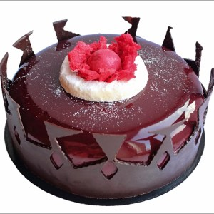 Cherry and Dark Chocolate Classics with Cream and a Touch of Inspiration ~ Black Forest Entremet