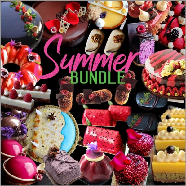 Summer Dessert and Cake Recipes Collection Bundle