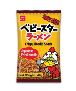 Baby Star Crispy Noodle Snack Japanese Fried Noodle 40g