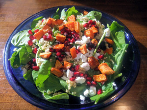 Recipe Swap – Quinoa and Roasted Sweet Potato Salad