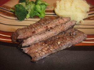 Secret Recipe Club: Balsamic Glazed Skirt Steak
