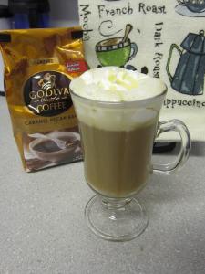 Foodbuzz Tastemaker: Godiva Caramel Pecan Bark Latte