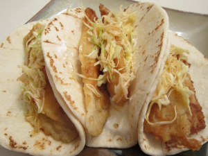 Taco Tuesday: Beer-Battered Fish Tacos with Chile Marinated Slaw