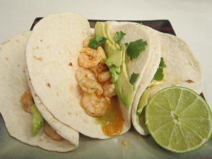 Taco Tuesday: Chili-Lime Shrimp Tacos