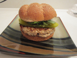 Daring Cooks: California Turkey Burger