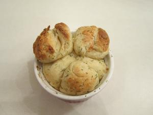 Secret Recipe Club: Buttery Dill Monkey Bread