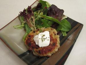 Recipe Swap: Boxty Potato Cake Salad