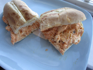 Sammich Saturday: Buffalo Chicken Salad Sandwiches