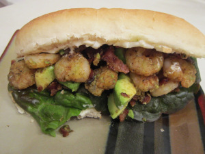 Sammich Saturday: Crispy Shrimp Sandwiches