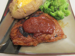 Sirloin Steaks with Ancho Chile Sauce