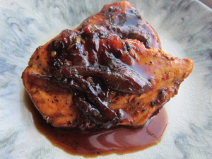 Apple Cider Chicken with Caramelized Shallots
