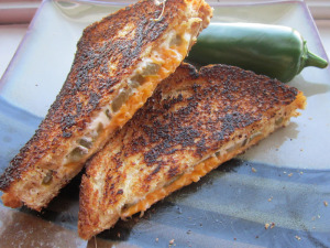 Sammich Saturday: Jalapeno Popper Grilled Cheese
