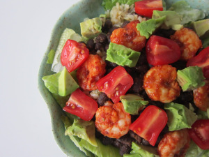 Chipotle Shrimp Salad