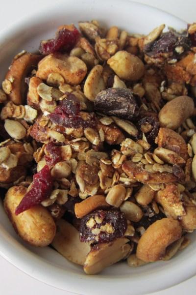 Recipe Swap: Cranberry Nut Granola