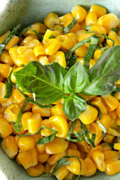 Recipe Swap: Fresh Basil and Corn Salad