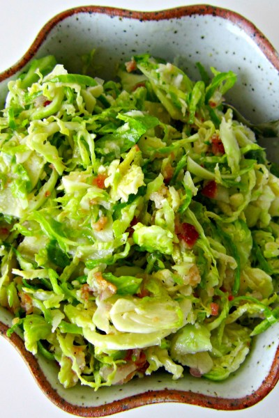 Bacon and Brussels Sprouts Salad