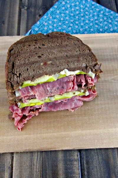 Sammich Saturday: Pastrami & Swiss Panini on Rye