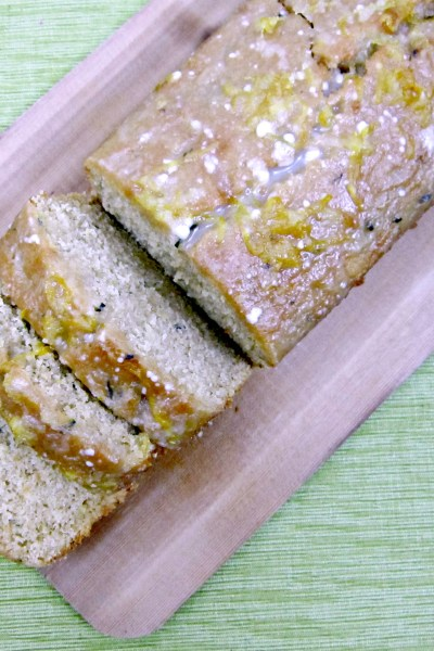 Lemon Zucchini Bread #BrunchWeek