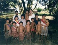 Marvelys Lopez, rural doctor and Yanomami tribe in the Amazon of Venezuela while she was finishing her education as a Medical Doctor in Venezuela