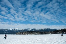 Frozen Whitefish Lake
