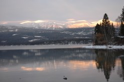 Whitefish Lake Reflections