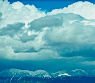 Swan Range with Clouds