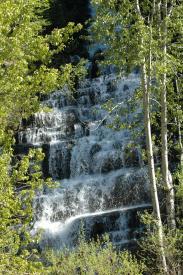 Spring Waterfall