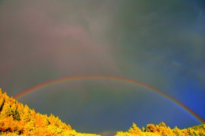 Rainbow, Waterton
