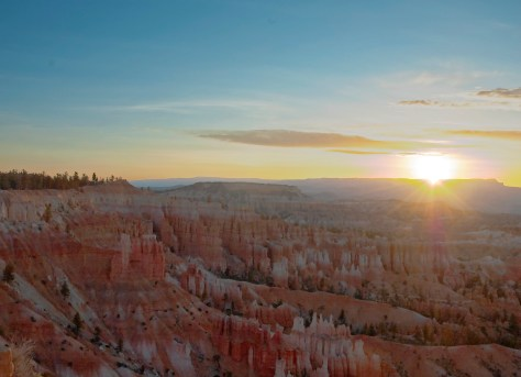 Bryce, Sunrise, Canyons