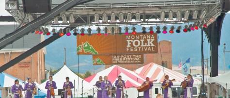Marachi Band, Montana Folk Festival