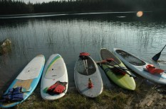Murray Lake, Paddleboards