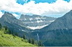 Glacier National Park, Waterfall, Greens