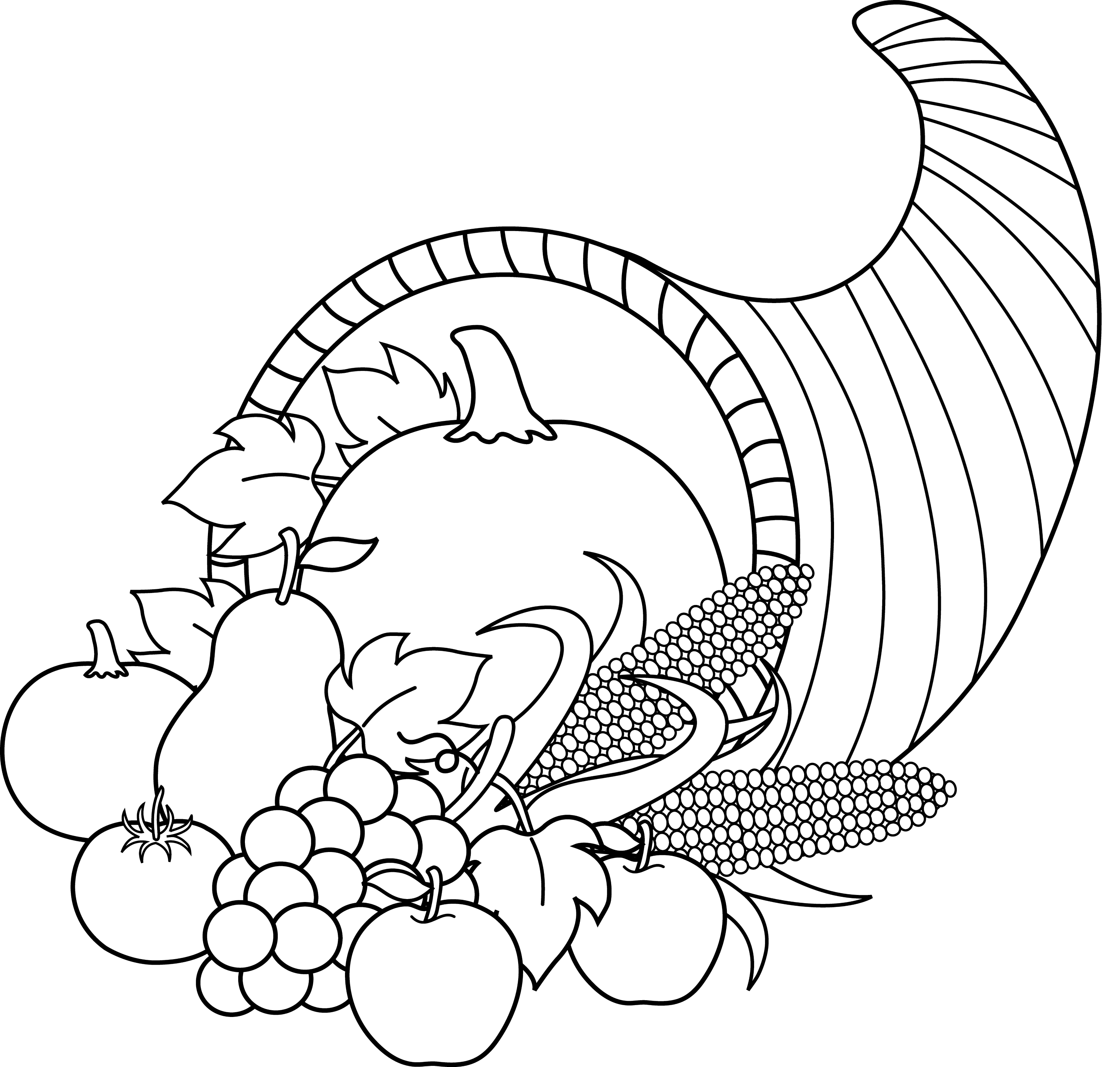 related cornucopia coloring pages pumpkin coloring pages