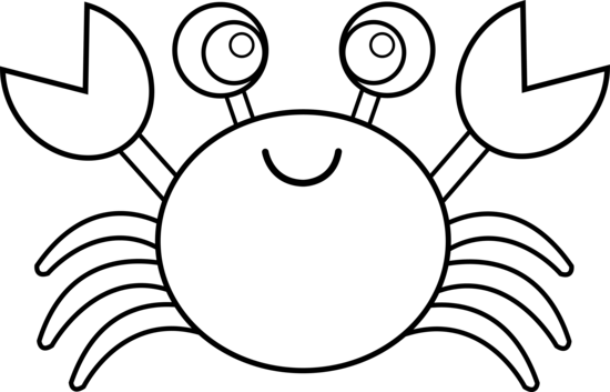 cute crab coloring pages cooloring com