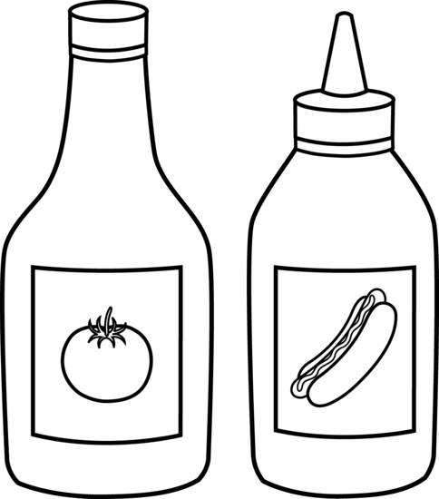 Image result for clipart condiments