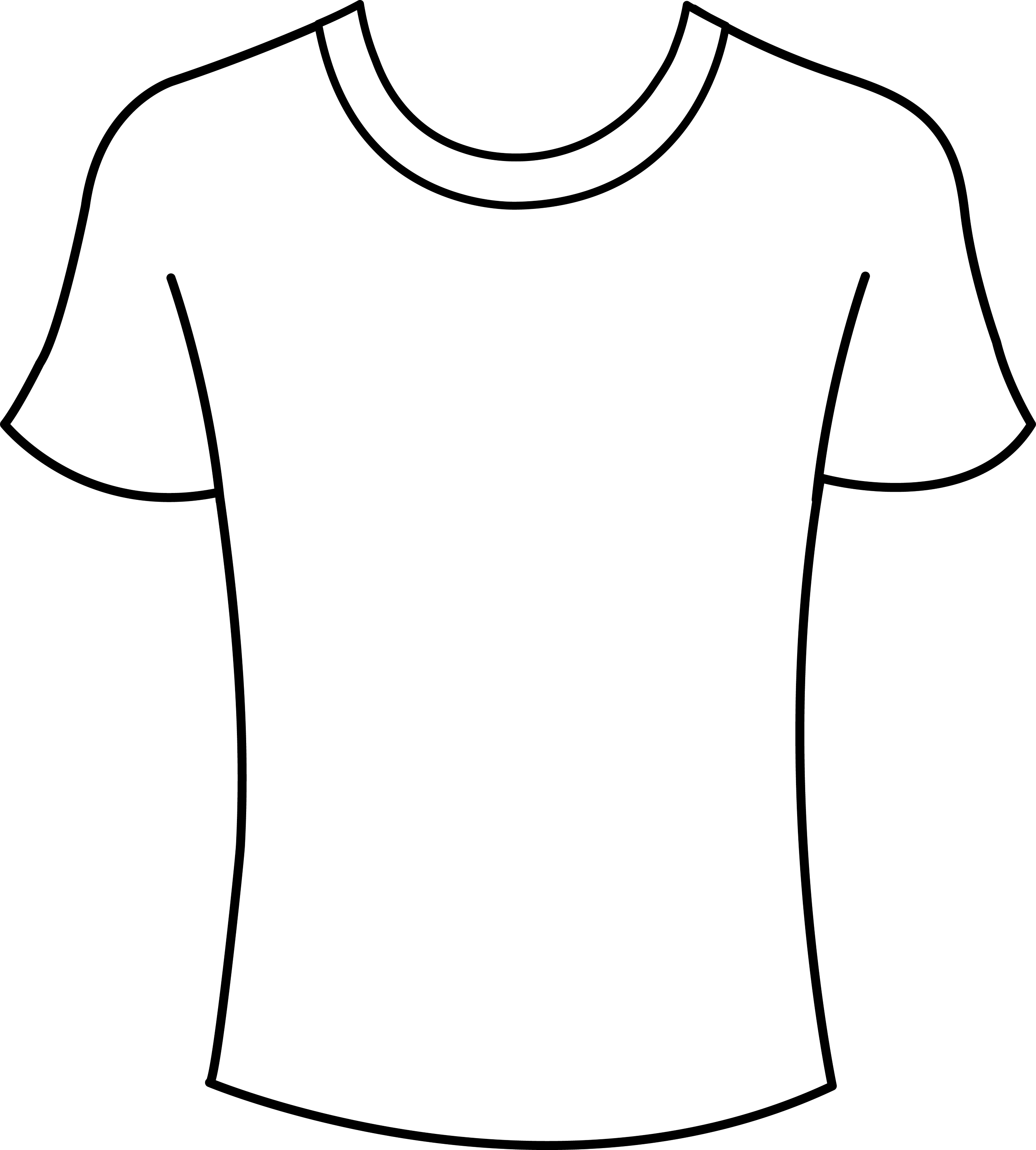 Mens T Shirt Template