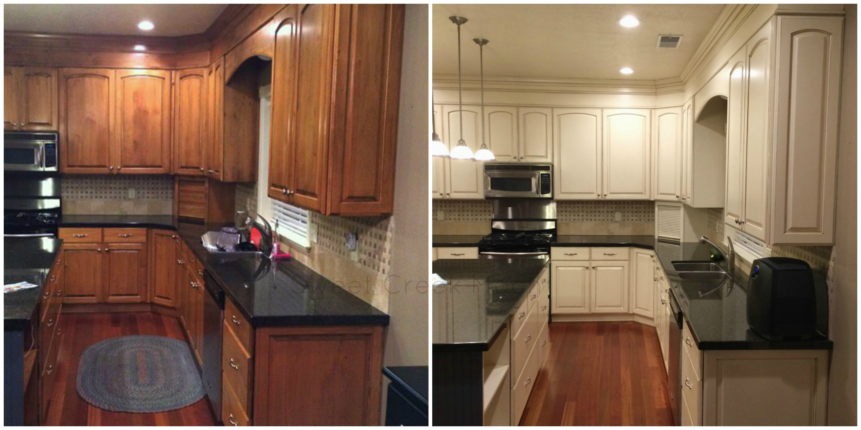Kitchen Cabinet Makeovers Before And After kitchen cabinet makeover | 2015 - sweet creek moon