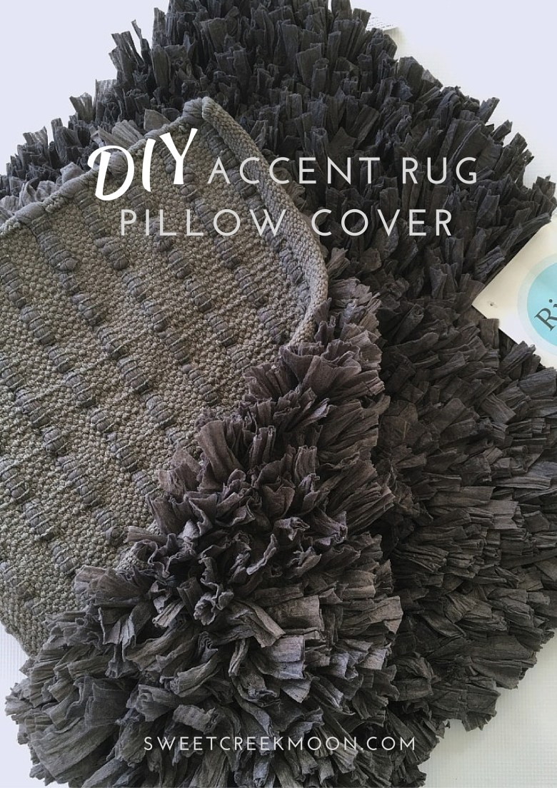 Accent Rug Pillow Cover