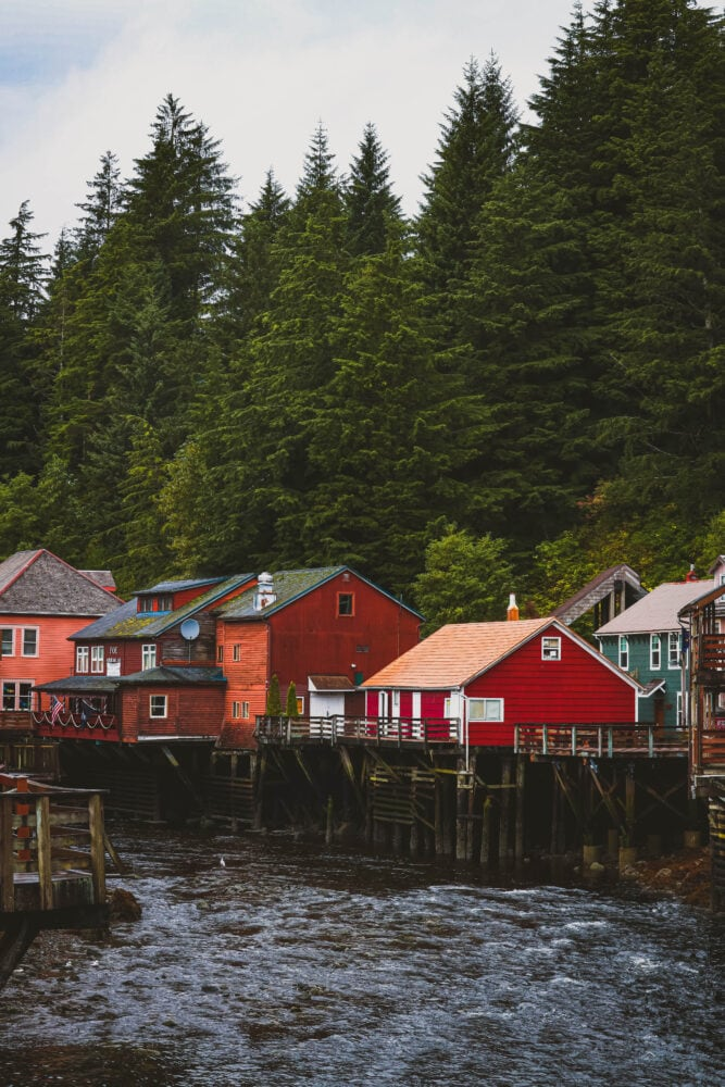 Picture of Creek Street Ketchikan Alaska