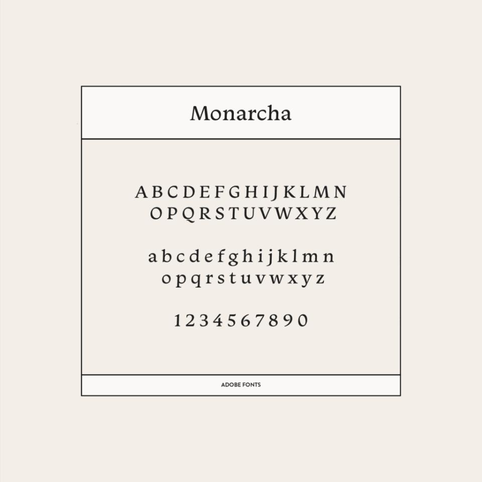 Monarcha Font