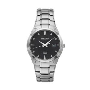 SALE! $78.99 (Reg $295.00) Seiko Men's Core Diamond Solar Watch