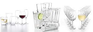 SALE! $9.99 (Reg $30.00) 12-Piece Martha Stewart Glassware Sets