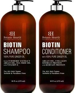 Lightning Deal! $18.80 (Reg $26.98) BOTANIC HEARTH Biotin Shampoo and Conditioner Set