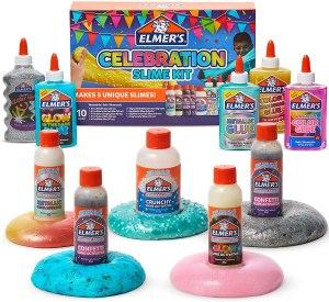 $17.46 ( Reg $29.99) Elmer's Celebration Slime Kit