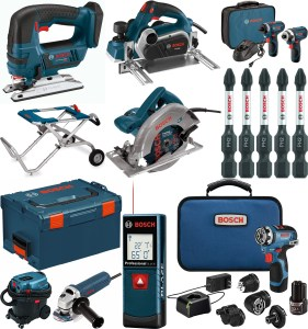 Save $50.00 on orders $200.00+! Bosch tools and accessories