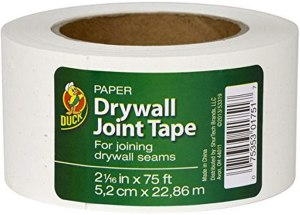 $1.77 Duck Brand Paper Drywall Joint Tape, 2.06 Inches x 75 Feet (1 Roll)