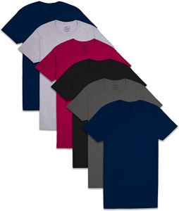 PRICE DROP! $12.59 (Reg $17.99) Fruit of the Loom Men's Pocket T-Shirt Multipack